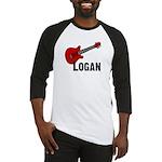 Guitar - Logan Baseball Jersey