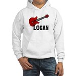 Guitar - Logan Hooded Sweatshirt
