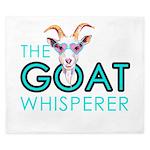 The Goat Whisperer Hipster Goat by GetYerGoat King