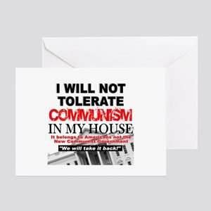 """""""I Will Not Tolerate Communism in My House"""" Greeti"""