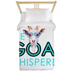 The Goat Whisperer Hipster Goat by GetYerGoat Twin