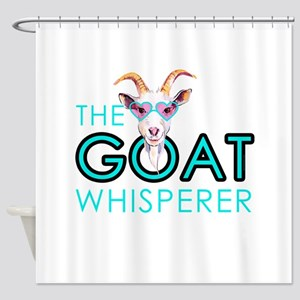The Goat Whisperer Hipster Goat by GetYerGoat Show