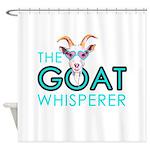 The Goat Whisperer Hipster Goat by GetYerGoat Show