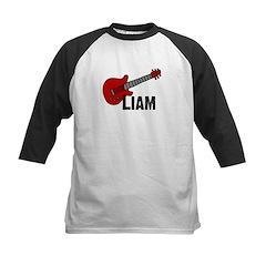 Guitar - Liam Kids Baseball Jersey