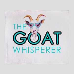 The Goat Whisperer Hipster Goat by GetYerGoat Thro