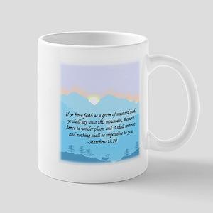"""Mustard Seed"" 11 oz Ceramic Mug"