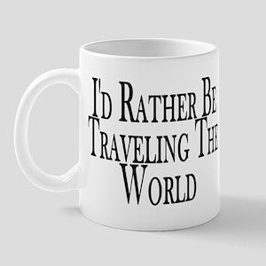 Rather Travel The World Mug