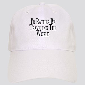 Rather Travel The World Cap