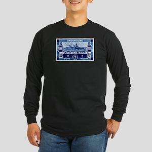 1931 Italian Naval Academy Long Sleeve Dark T-Shir