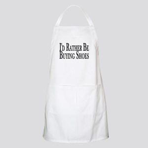 Rather Buy Shoes BBQ Apron