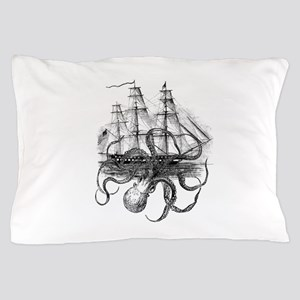 OctoShip Pillow Case