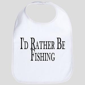 Rather Be Fishing Bib