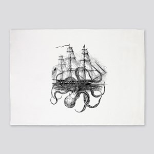 OctoShip 5'x7'Area Rug