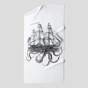 OctoShip Beach Towel