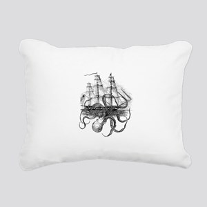 OctoShip Rectangular Canvas Pillow