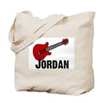Guitar - Jordan Tote Bag