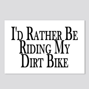 Rather Ride My Dirt Bike Postcards (Package of 8)
