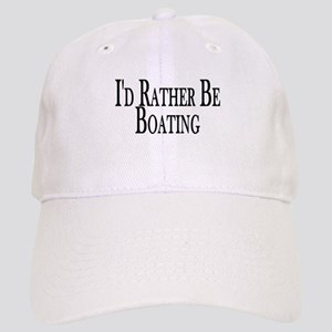 Rather Be Boating Cap