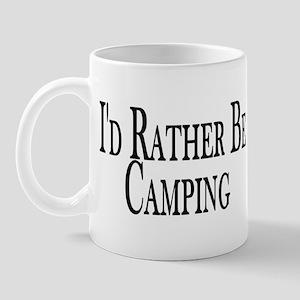 Rather Be Camping Mug