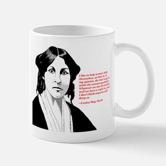 Alcott women quote Mug