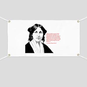 Alcott women quote Banner