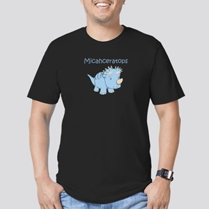 Micahceratops Men's Fitted T-Shirt (dark)