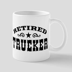 Retired Trucker 11 oz Ceramic Mug