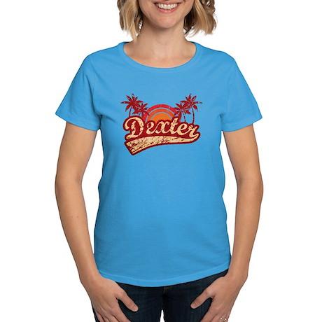 'Vintage' Dexter Women's Dark T-Shirt