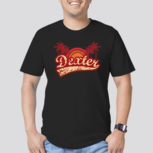 'Vintage' Dexter Men's Fitted T-Shirt (dark)