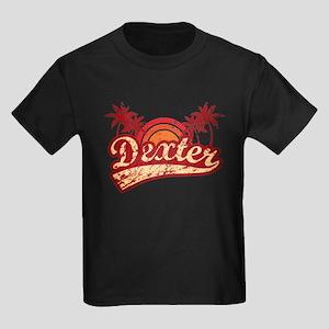 'Vintage' Dexter Kids Dark T-Shirt