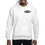 Rainbow PEACE Hooded Sweatshirt