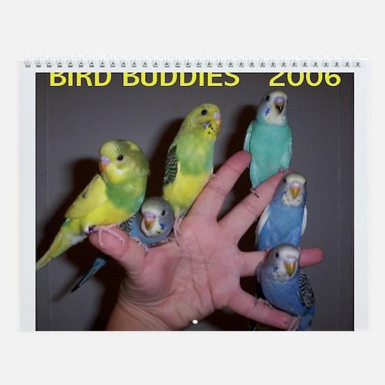 Bird Buddies 2006 Wall Calendar