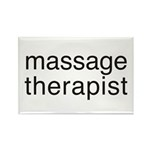 Massage Therapist Rectangle Magnet (100 pack)