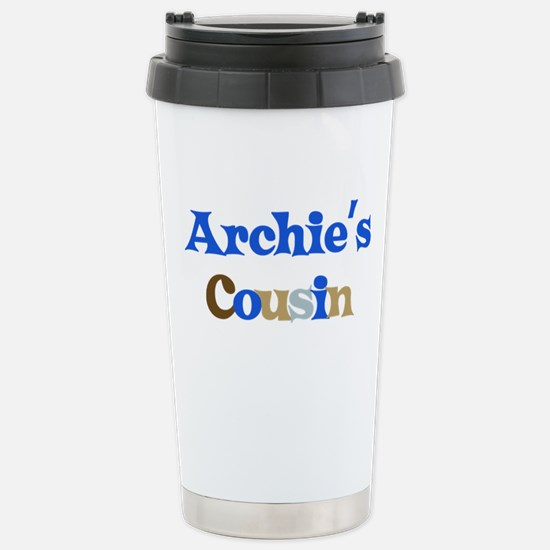 Archie's Cousin Stainless Steel Travel Mug