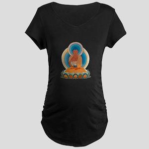 Amitabha/Amitofo Maternity Dark T-Shirt