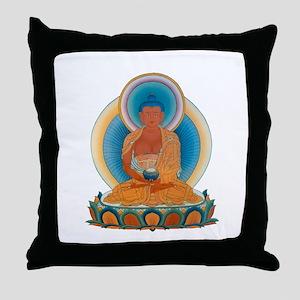 Amitabha/Amitofo Throw Pillow