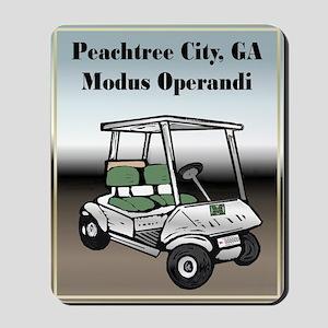 Peachtree City Mousepad
