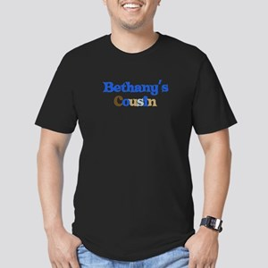 Bethany's Cousin Men's Fitted T-Shirt (dark)