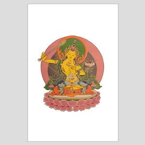 Manjushri Large Poster