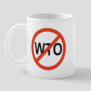 Say No to WTO Mug