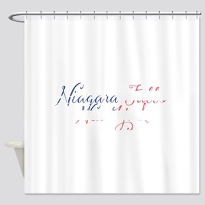 Niagara Falls New York Shower Curtain