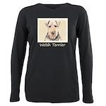 Welsh Terrier Plus Size Long Sleeve Tee
