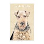 Welsh Terrier Mini Poster Print