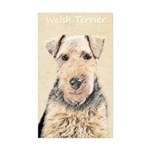 Welsh Terrier Sticker (Rectangle 50 pk)