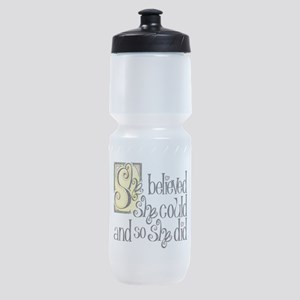 She Believed She Could Sports Bottle