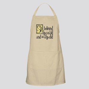 She Believed She Could Light Apron