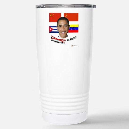 Communist in Chief Stainless Steel Travel Mug
