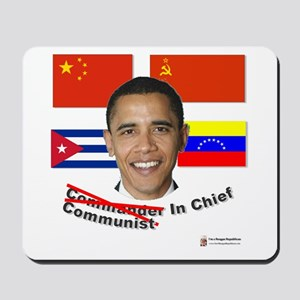Communist in Chief Mousepad
