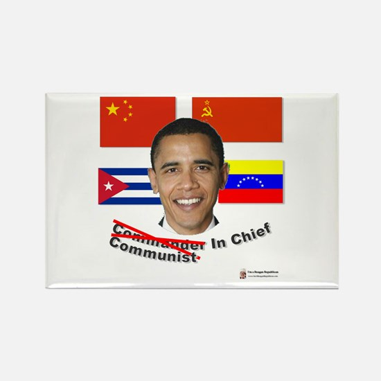 Communist in Chief Rectangle Magnet (10 pack)