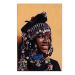Bead Girl Postcards (Package of 8)